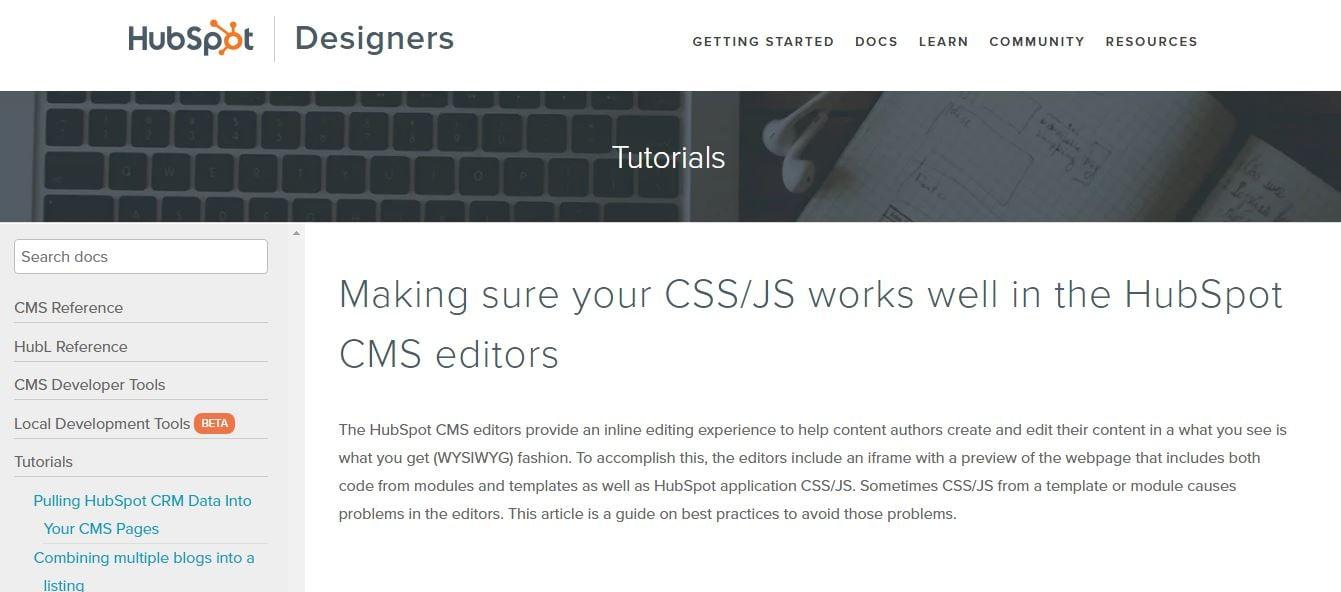 Hubspot CSS_SEO Strategy