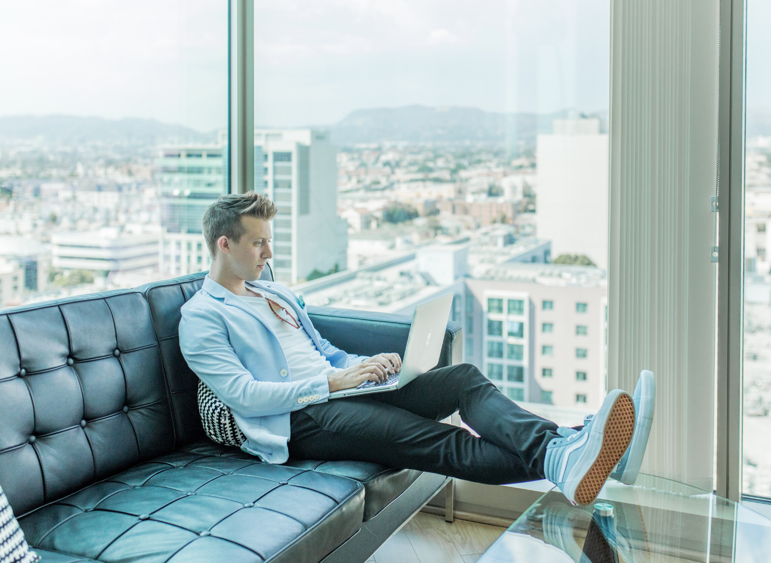 work from couch_A Hubspot Agencys Top 10 Tips for Remote Working
