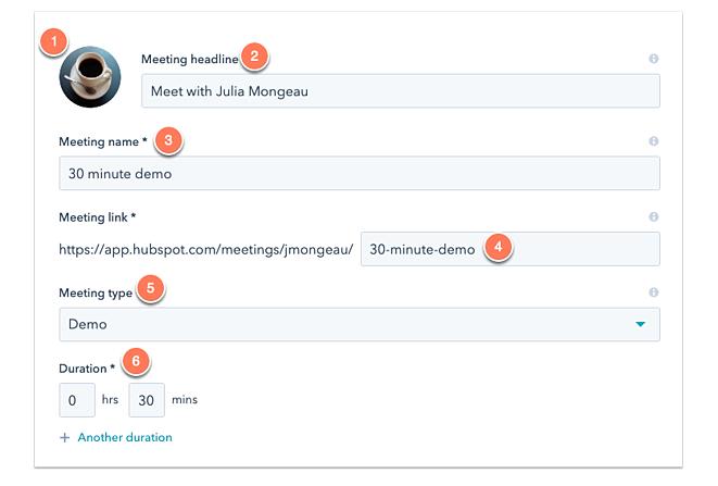 Meetings Link_Hubspot CRM