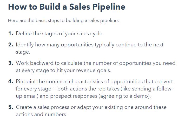 sales pipeline_hubspot crm