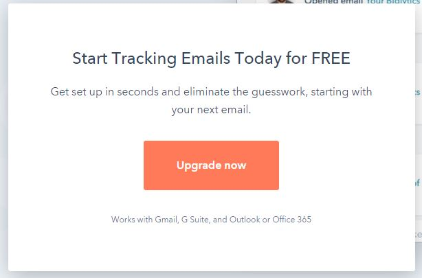 install hubspot email tracking